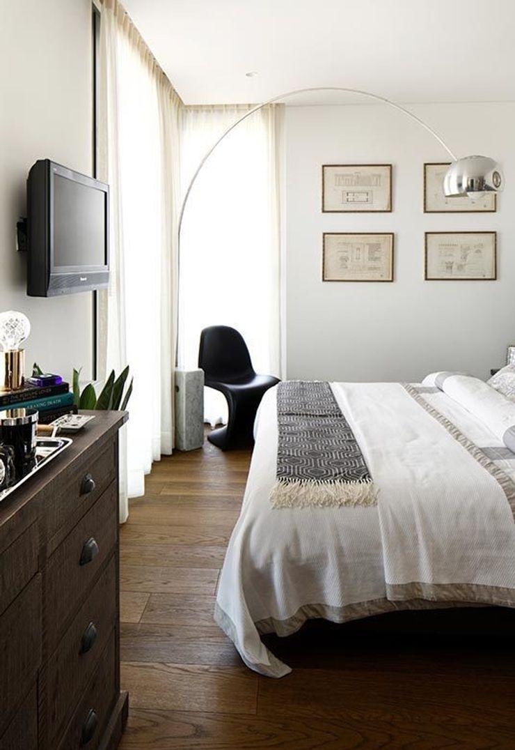 Guest bedroom Esra Kazmirci Mimarlik Eclectic style bedroom