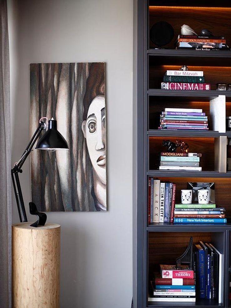 livingroom Esra Kazmirci Mimarlik Eclectic style living room