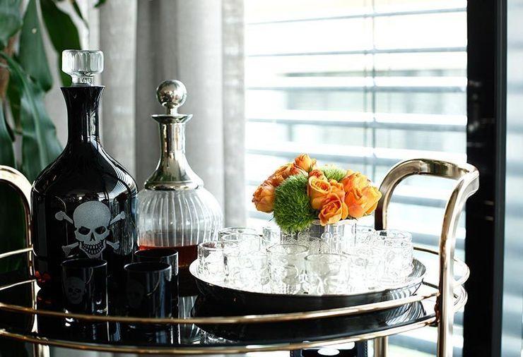 Details Esra Kazmirci Mimarlik Eclectic style living room