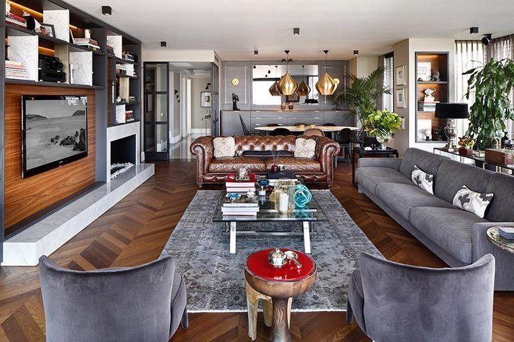 Livingroom Esra Kazmirci Mimarlik Modern living room