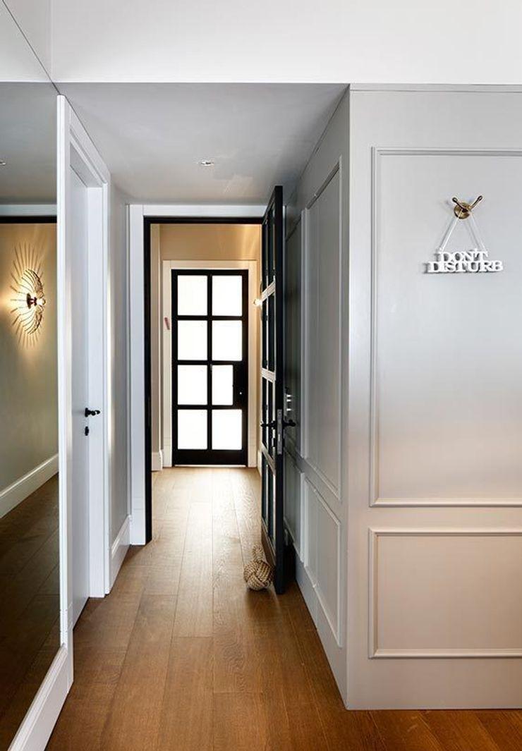 Hall Esra Kazmirci Mimarlik Modern living room