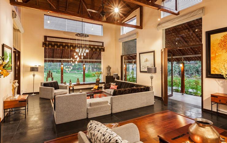 G Farm House Kumar Moorthy & Associates Eclectic style living room