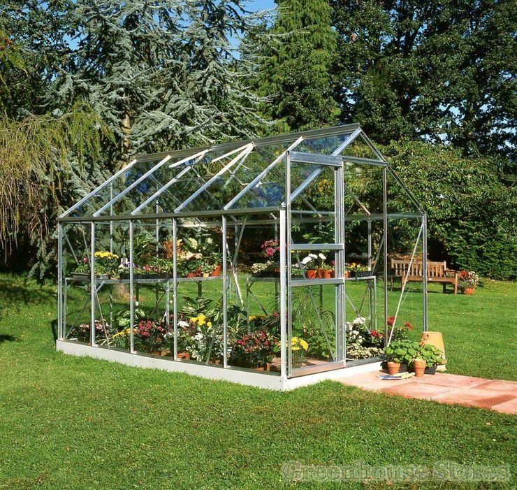 Halls Popular 6x10 Greenhouse homify Garden Greenhouses & pavilions