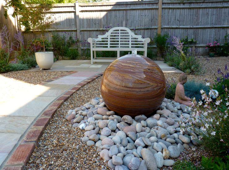 Serene Gravel Garden Cornus Garden Design Modern garden