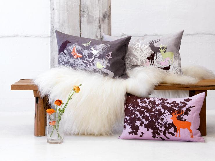 Ookinhetpaars Scandinavian style living room
