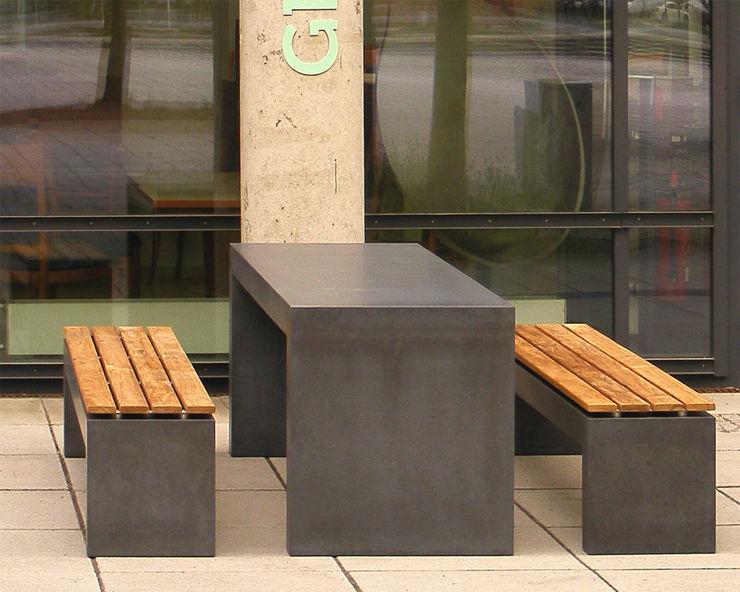 Betonbank San Vito 2000 oggi-beton Balkon, Veranda & TerrasseMöbel Beton