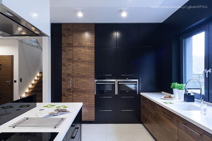 głodni STYLU pracownia projektowa Modern kitchen