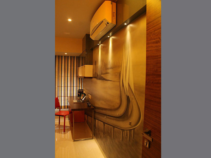 s k designs - contemporary residence in Andheri S K Designs Rooms