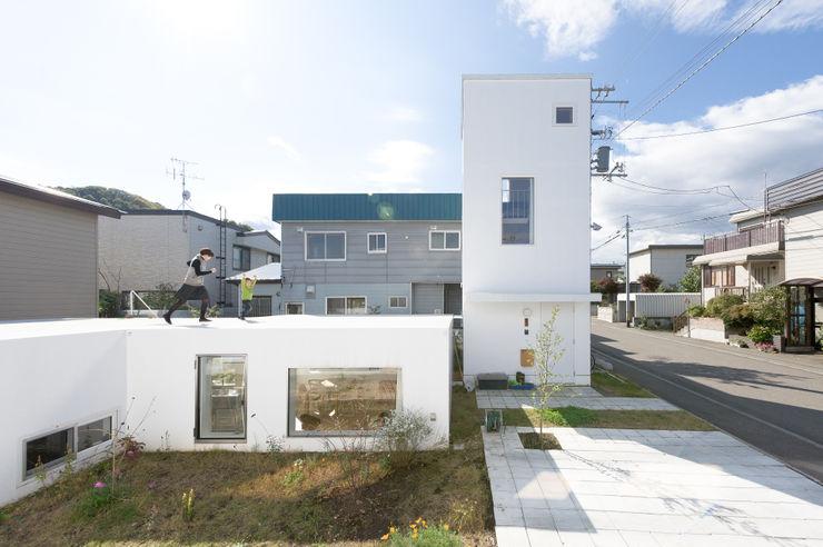 hiroshi kuno + associates Minimalistische Häuser