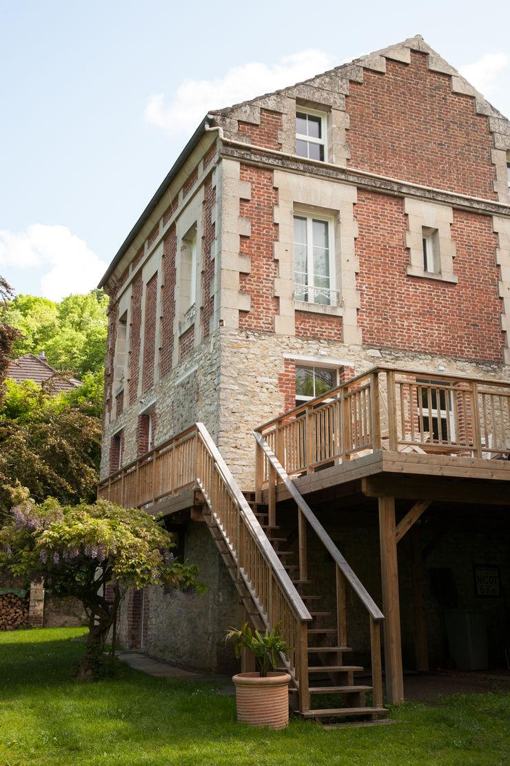 mllm Eklektyczny balkon, taras i weranda