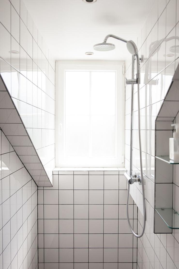 mllm Eklektyczna łazienka