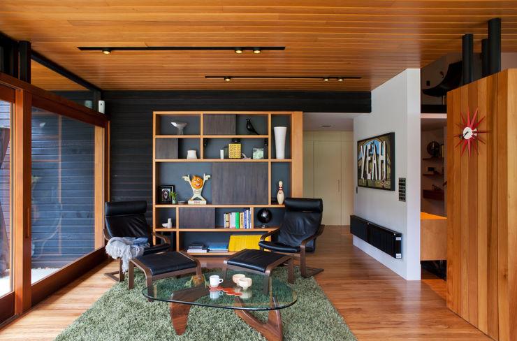 Marine Parade Dorrington Atcheson Architects Salas de estar modernas