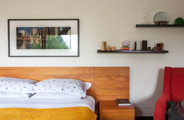 Marine Parade Dorrington Atcheson Architects Modern style bedroom
