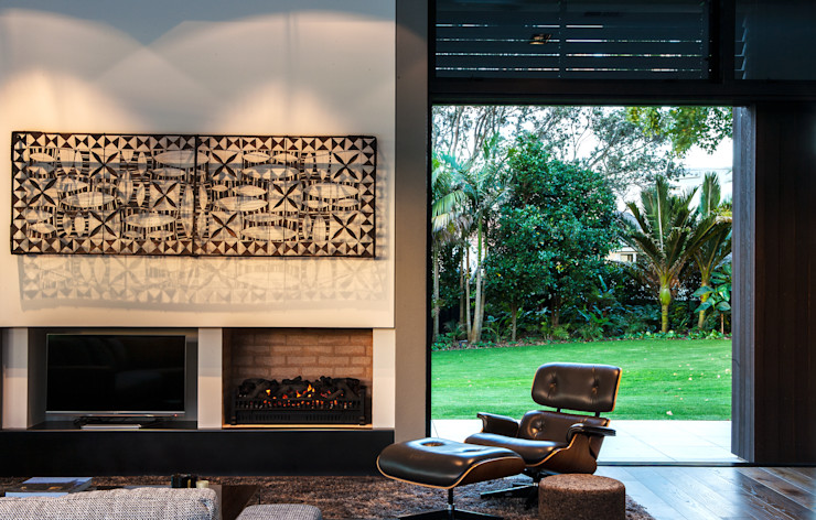 Godden Cres Dorrington Atcheson Architects Modern living room