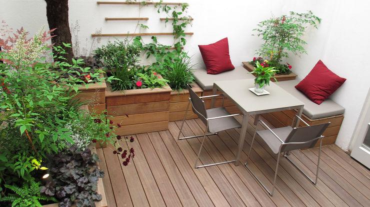 Marylebone Courtyard Fenton Roberts Garden Design Moderner Garten