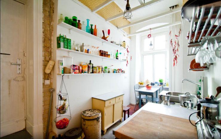 jltg innenarchitekts 廚房收納櫃與書櫃