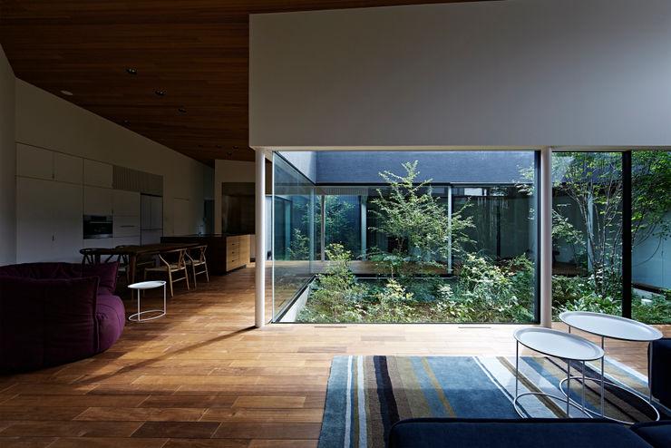 House in Higashimurayama 石井秀樹建築設計事務所 Modern Garden