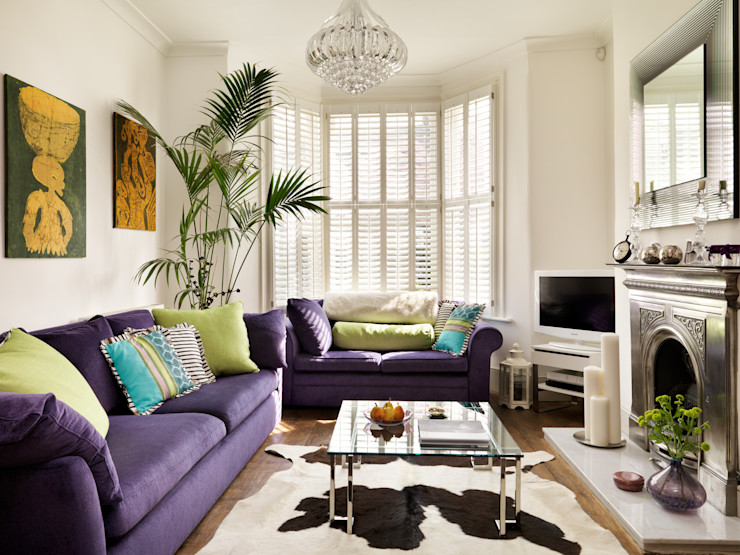 Camberwell Victorian House My Bespoke Room Ltd Modern Living Room