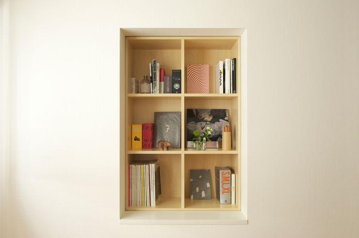 SWITCH apartment YUKO SHIBATA ARCHITECTS Modern Study Room and Home Office