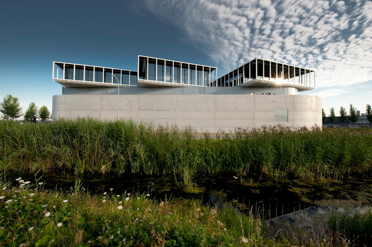 Scotch & Soda Offices and Company Hall Dam & Partners Architecten Moderne kantoorgebouwen