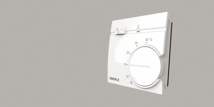 Raumtemperaturregler RTR 9000 von EBERLE Controls: EBERLE Controls Klassische Wohnzimmer