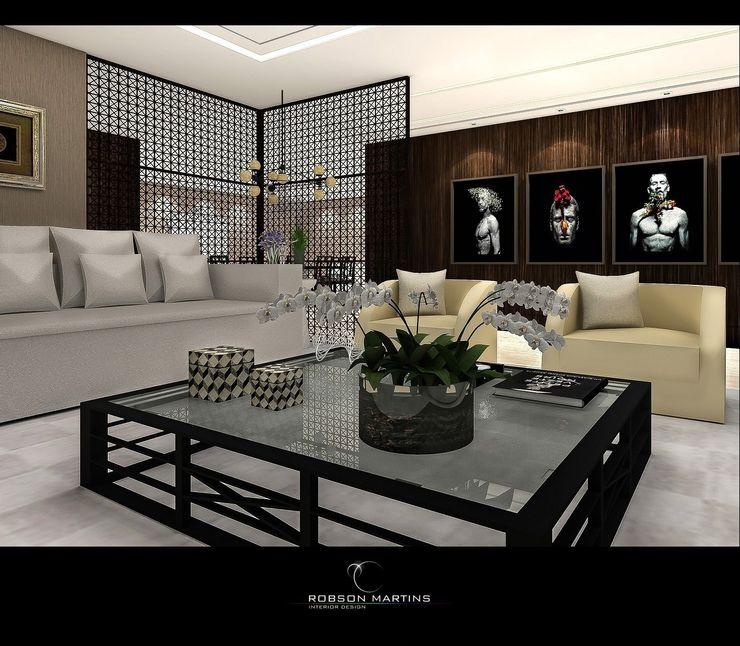 Living Room Robson Martins Interior Design Moderne Wohnzimmer