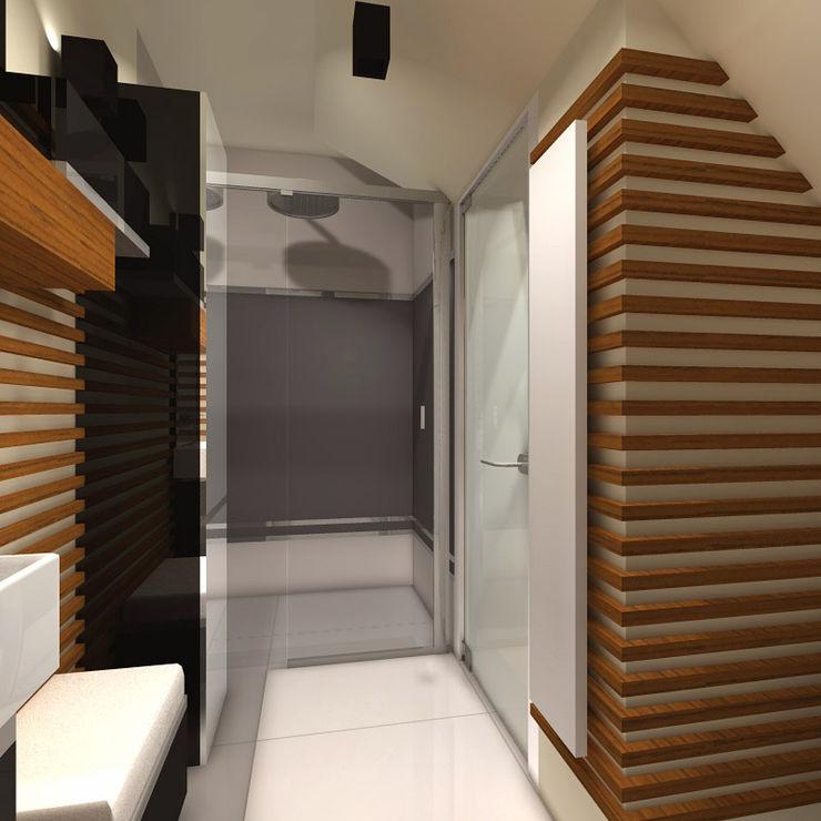 Studio Projektowe Projektive Modern Bathroom