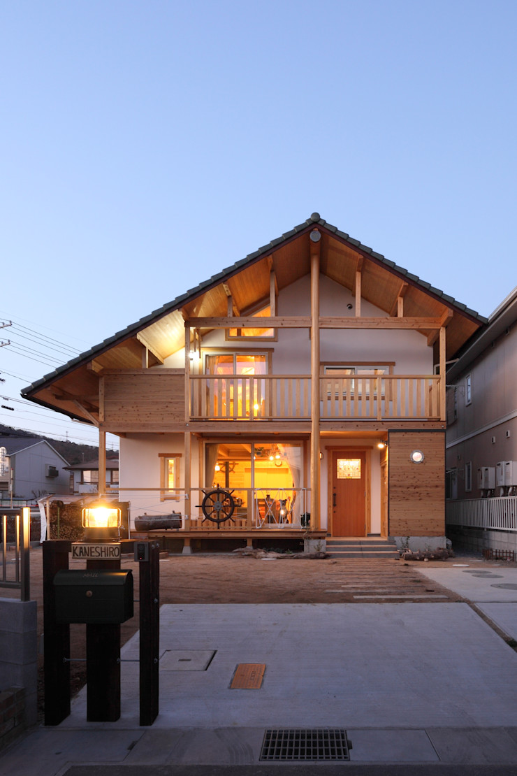 ATELIER TAMA Country style house
