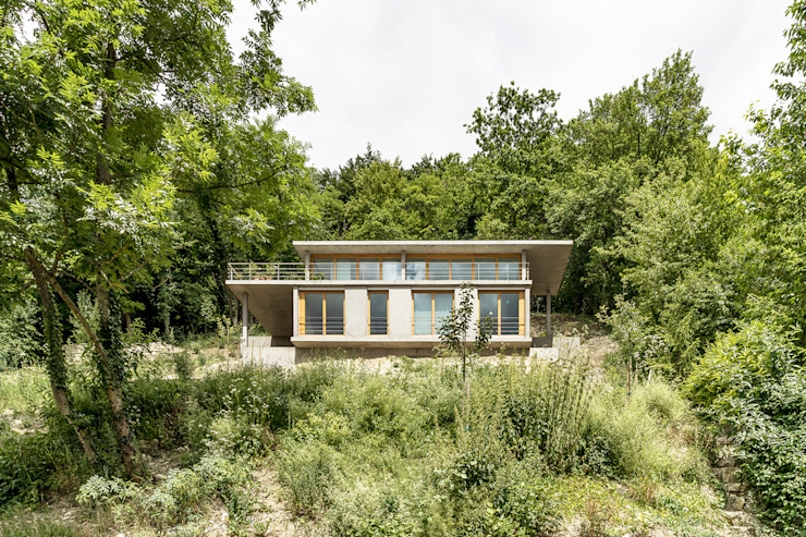GIAN SALIS ARCHITEKT 現代房屋設計點子、靈感 & 圖片