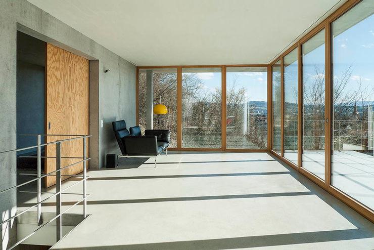 GIAN SALIS ARCHITEKT 现代客厅設計點子、靈感 & 圖片