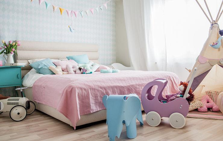 Mocca Studio Dormitorios infantiles de estilo escandinavo