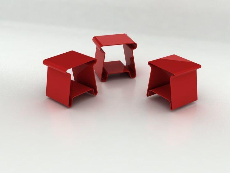 vV Design Sala de estarBancos e cadeiras