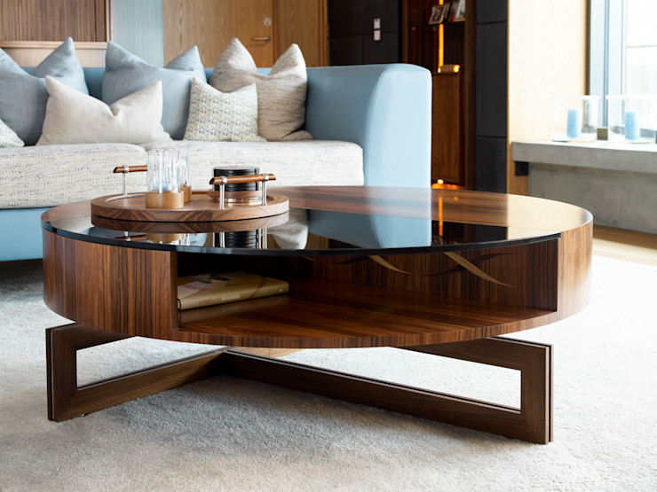 The perfect coffee table - Private Residence, Oslo LINLEY London Living roomStorage