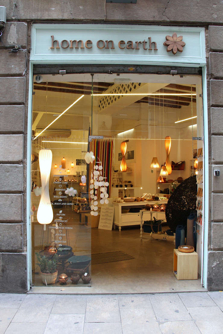home on earth shop in Barcelona home on earth Espacios comerciales de estilo escandinavo