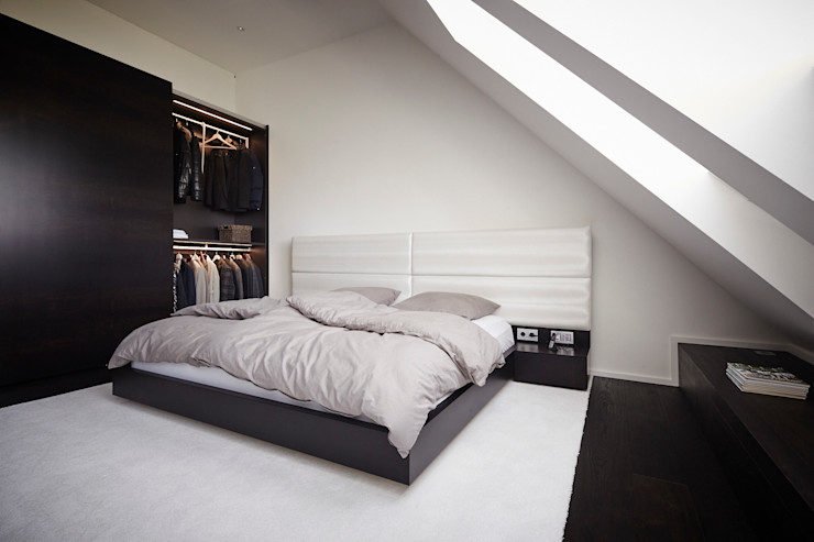 Referenzprojekt Schmalenbach Design HOME Schlafen & Wohnen GmbH Moderne Schlafzimmer
