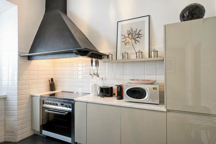 VOLTURNO MOB ARCHITECTS Cucina moderna