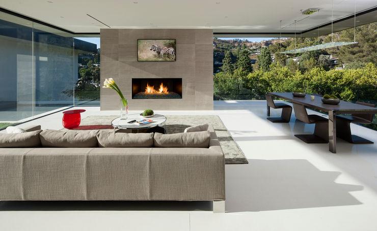 SUNSET STRIP RESIDENCE McClean Design Modern living room