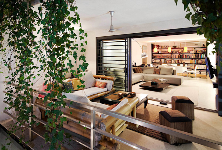 FANSTUDIO__Architecture & Design Modern Terrace