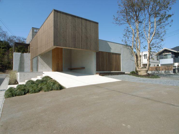 BREATH 中庭のある家 水谷嘉信建築設計事務所 モダンな 家