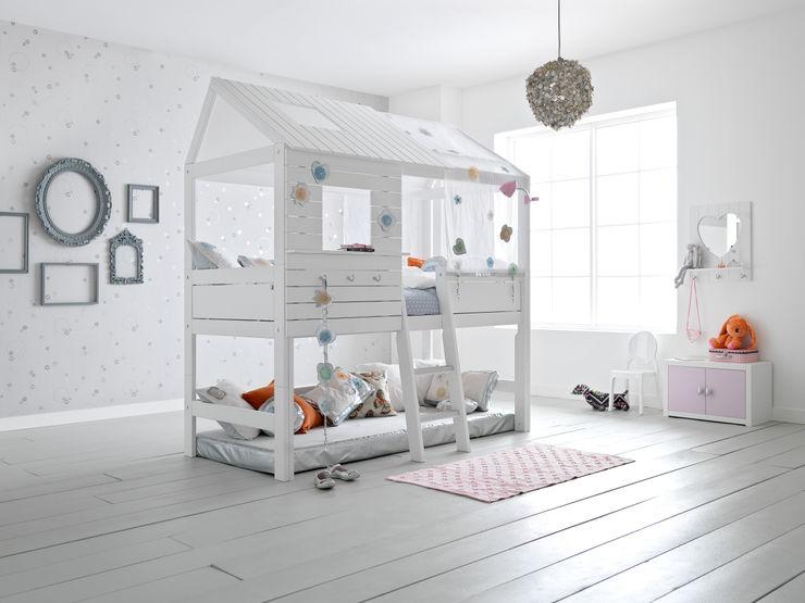 Silversparkle Children's High Hut Bed Cuckooland Habitaciones infantilesCamas y cunas