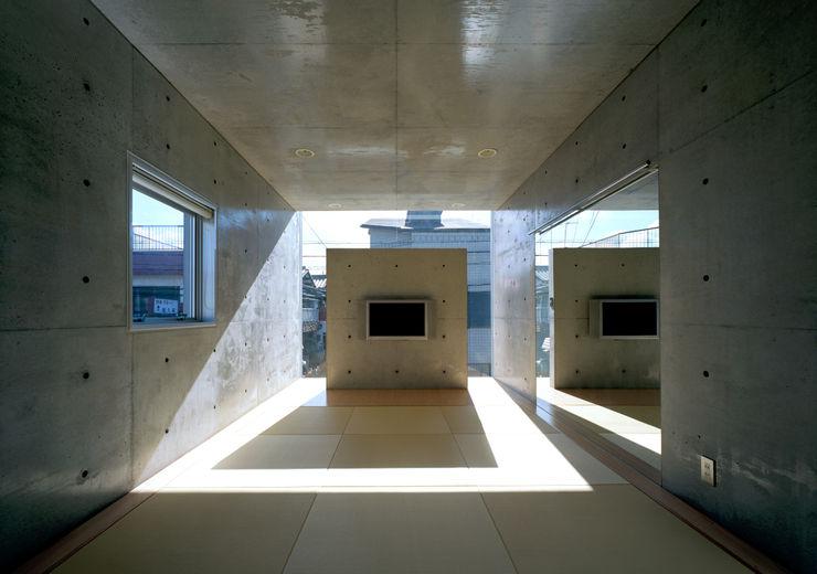 和室 一級建築士事務所アトリエm モダンな 壁&床 鉄筋コンクリート 灰色