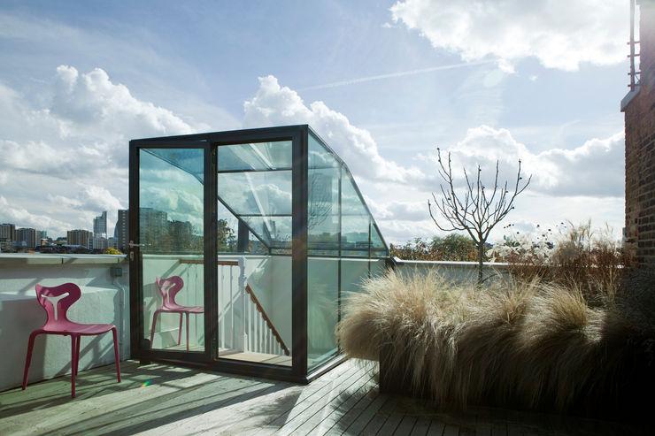 Vincent Terrace Lipton Plant Architects Balkon, Veranda & Teras