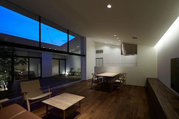 House in Hakonomori 石井秀樹建築設計事務所 Modern Living Room