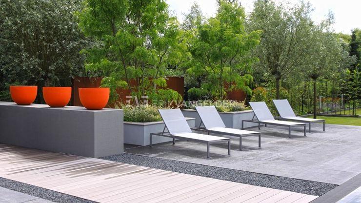 Villatuin Rotterdam ERIK VAN GELDER   Devoted to Garden Design TuinZwembaden & vijvers