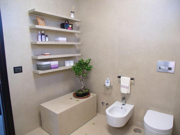 Alfonso D'errico Architetto Nowoczesna łazienka