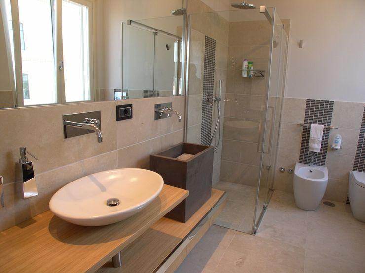 Bagno Zona Note Casa Mazzara due Alfonso D'errico Architetto Bagno moderno