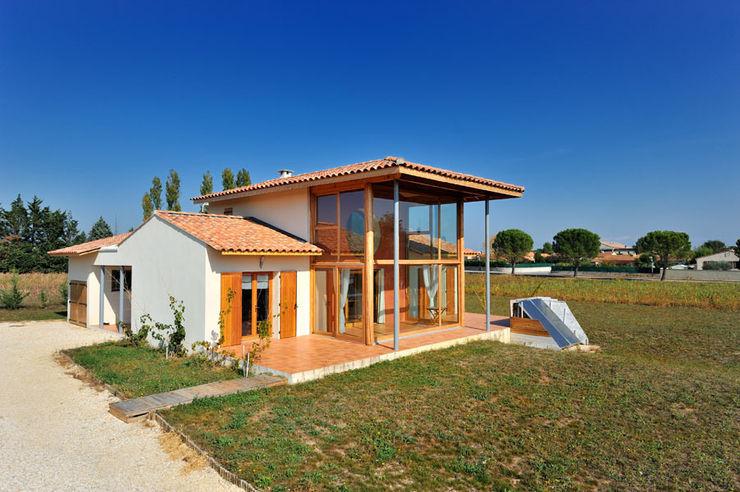 JOSE MARCOS ARCHITECTEUR 에클레틱 주택