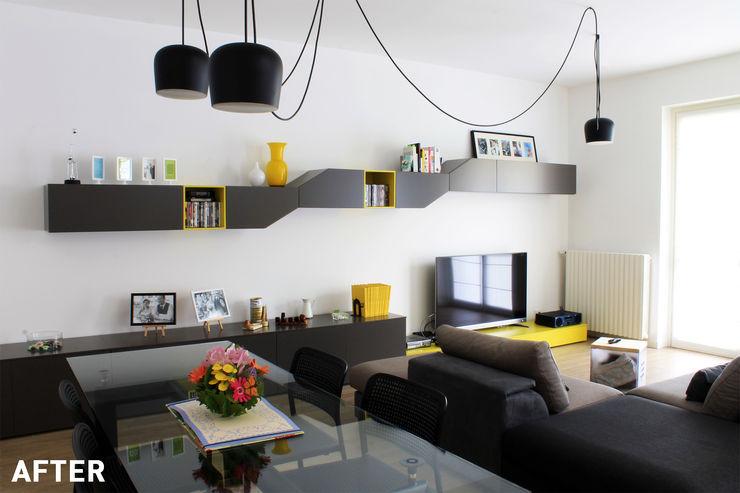 Milano - San Siro, Soggiorno Davide Mori Studio Architettura e Design