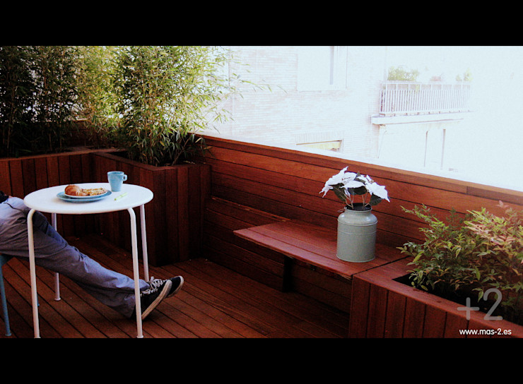 +2 Balcones y terrazas modernos