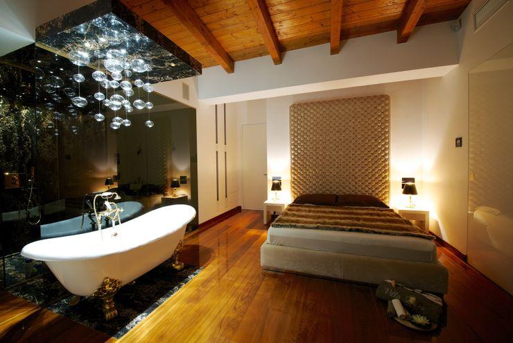 Master Bedroom Matteo Gattoni - Architetto Camera da letto moderna